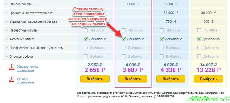 Страховка для выезда за границу и путешествий - покупка онлайн со скидкой 10%