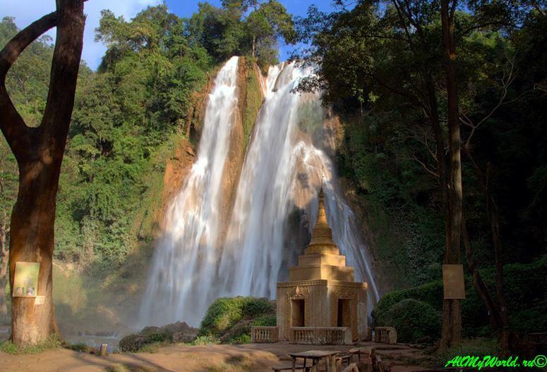 Пин-у-Львин, водопад Anikasan
