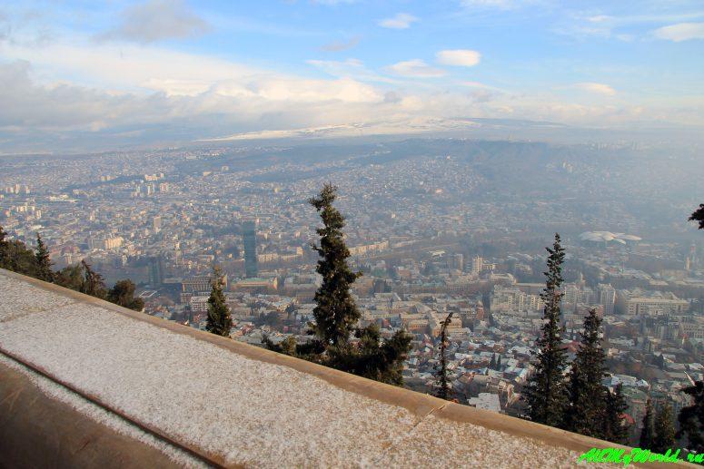 Тбилиси: Мтацминда, Пантеон и фуникулер