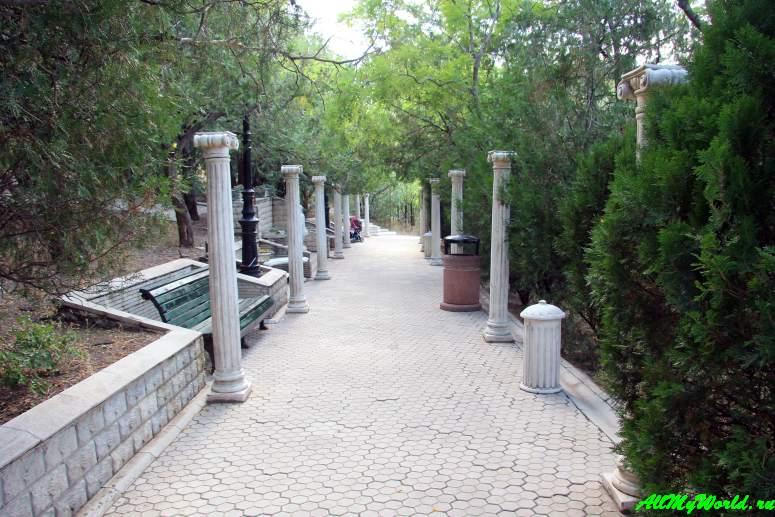 Тбилиси: парк Мтацминда
