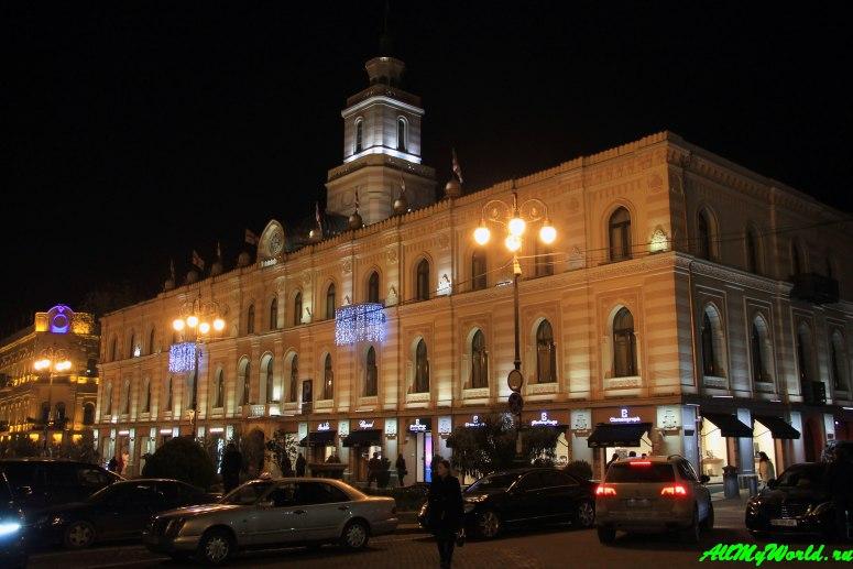 Тбилиси: проспект Руставели площадь Свободы