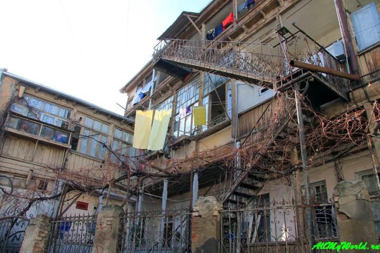 Тбилиси окрестности улицы Леселидзе