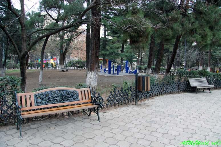 Районы Тбилиси: парк Вера