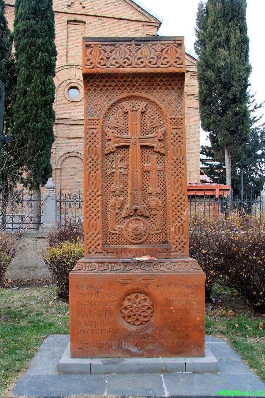 Старый Тбилиси: районы Авлабари церковь Нор Эчмиадзин