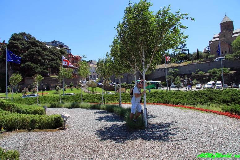 Старый Тбилиси: районы Авлабари парк Рике
