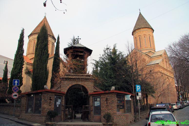 Тбилиси улица Котэ Абхази Леселидзе