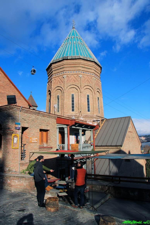 Тбилиси район Кала и Клдисубани церковь Сурб Геворк