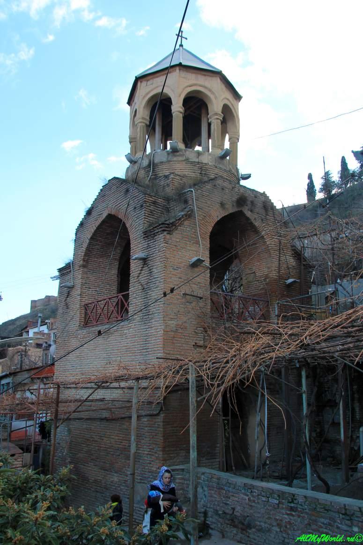 Тбилиси Клдисубани Вифлеемская колокольня