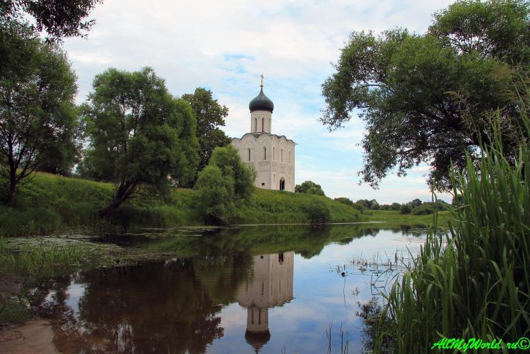 Золотое Кольцо России Боголюбово Церковь Покрова-на-Нерли