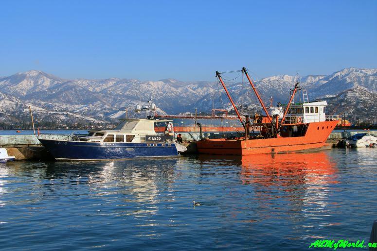 Морской порт Батуми