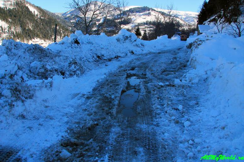 Трансаджарская трасса зимой