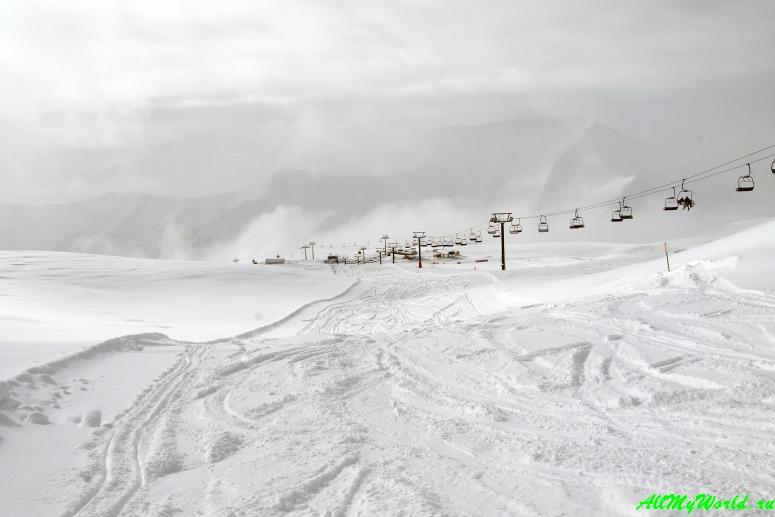 Грузия: горнолыжный курорт Гудаури