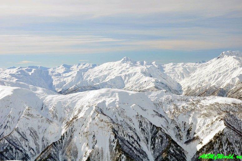 Грузия, горнолыжный курорт Тетнулди