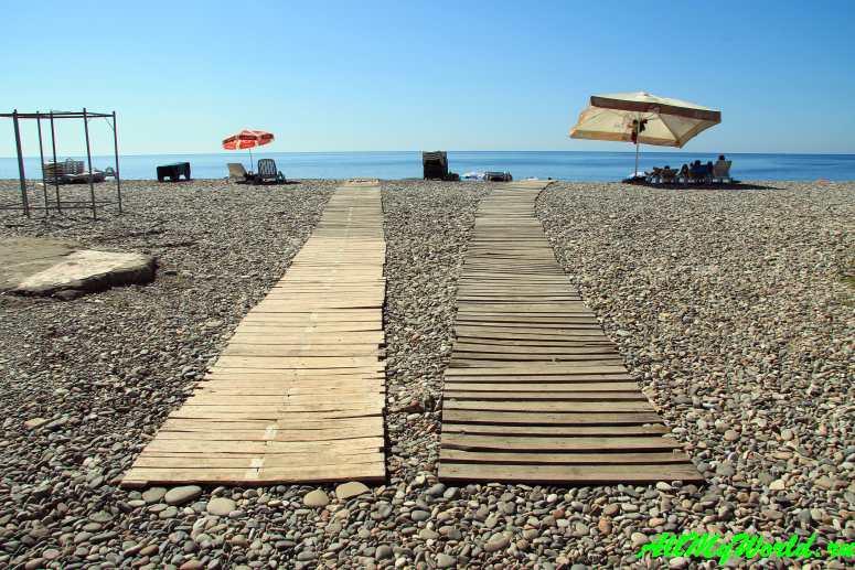 Отзыв о Квариати (Грузия): пляж, где жить и как добраться