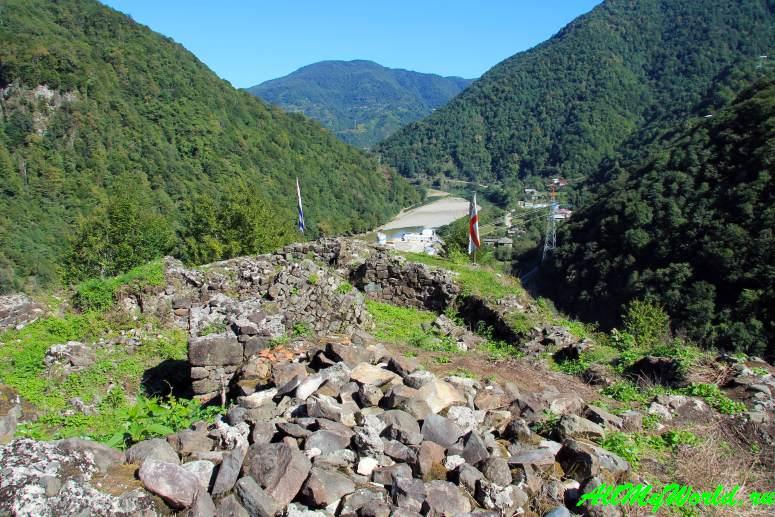 Грузия, Аджария: национальный парк Мачахела - крепость Гвара