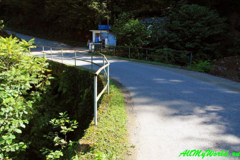 Грузия, Аджария: национальный парк Мачахела - мост Кирнати