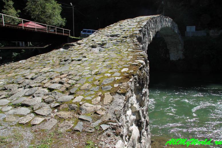 Грузия, Аджария: национальный парк Мачахела - мост Цхемлара
