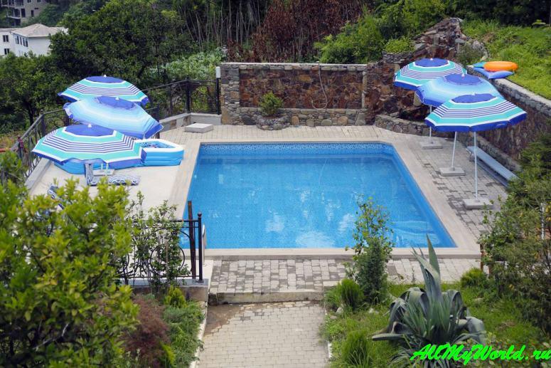 Отели и апартаменты Квариати - Mount Villa Kvariati