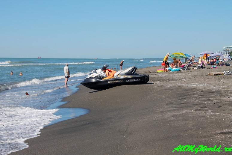 Шекветили: еще один песчаный пляж Грузии