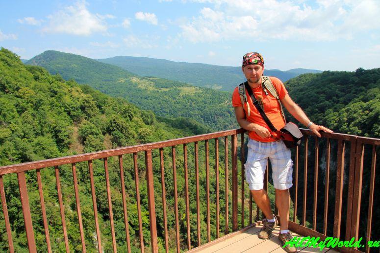 Окаце: самый красивый каньон Грузии