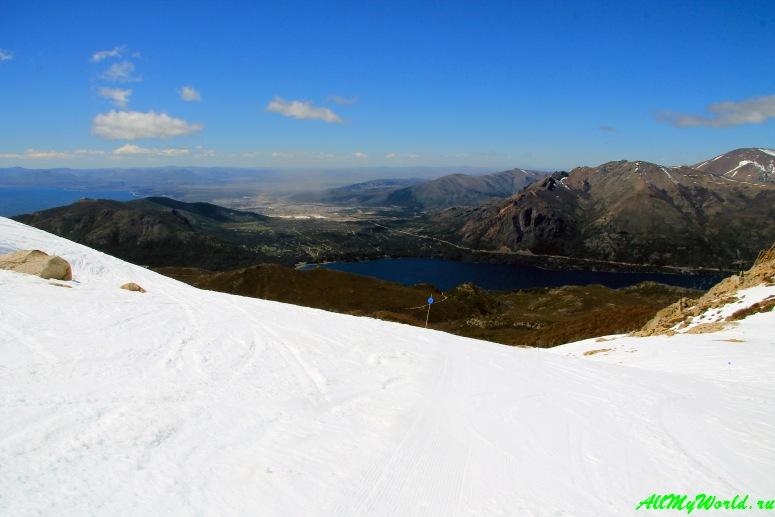 Аргентинская Патагония: горнолыжный курорт Серро-Катедраль (Cerro Catedral)
