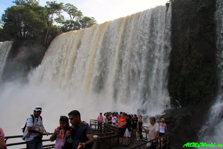 Чудо света: водопад Игуасу