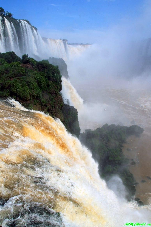 Чудо света: водопад Игуасу - описание, как добраться и много фото!