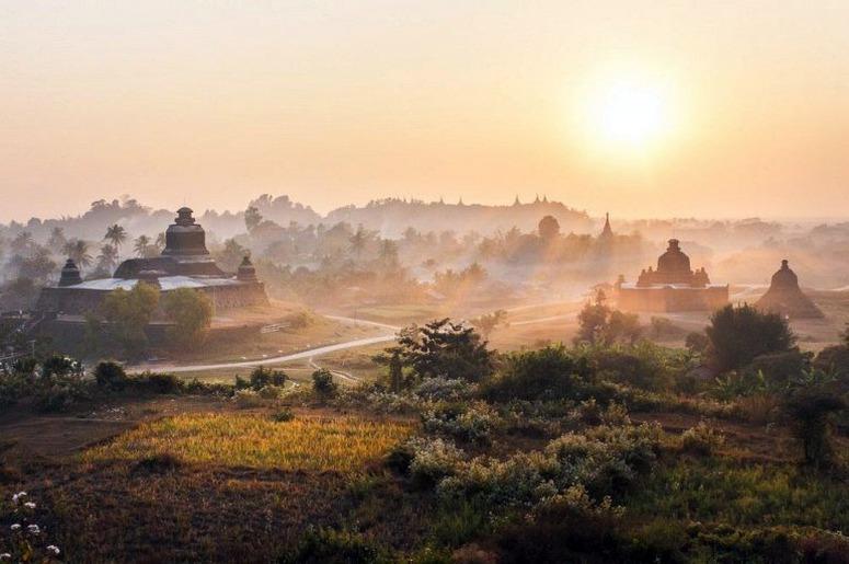 Достопримечательности Мьянмы - Мраук-У
