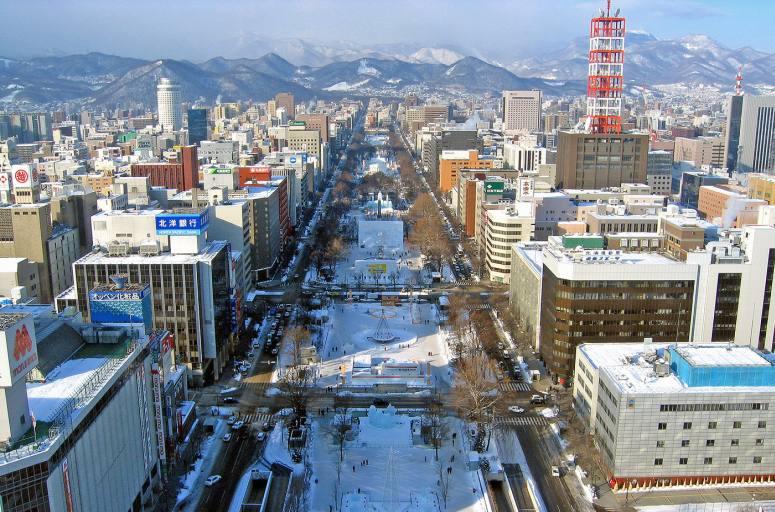 Путешествие в Японию самостоятельно - Саппоро