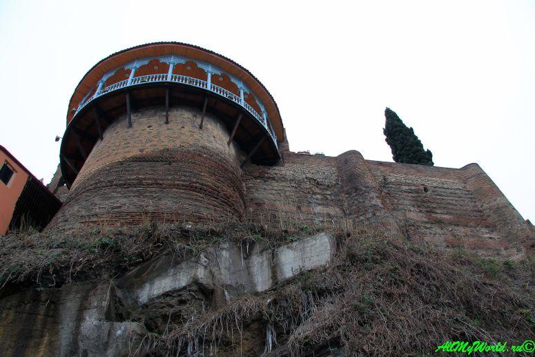 Достопримечательности Тбилиси - дворец Сачино (царицы Дареджан)