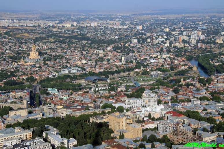 Достопримечательности Тбилиси - гора Мтацминда