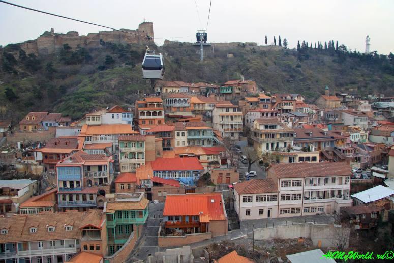 Достопримечательности Тбилиси - канатная дорога