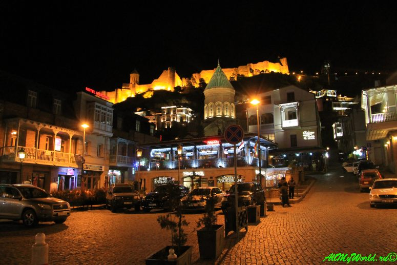 Достопримечательности Тбилиси - крепость Нарикала