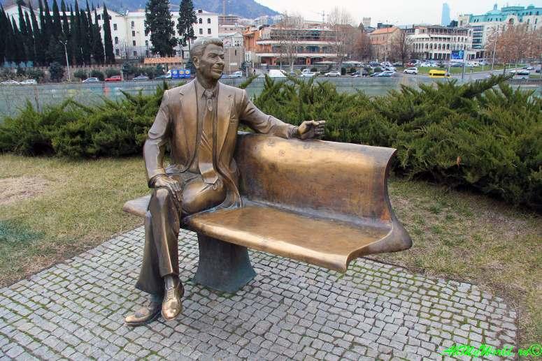Достопримечательности Тбилиси - парк Рике