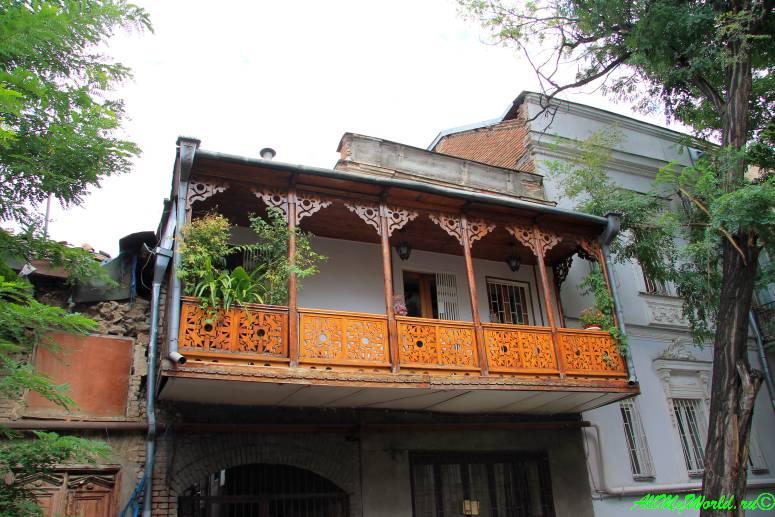 Достопримечательности Тбилиси - район Мтацминда