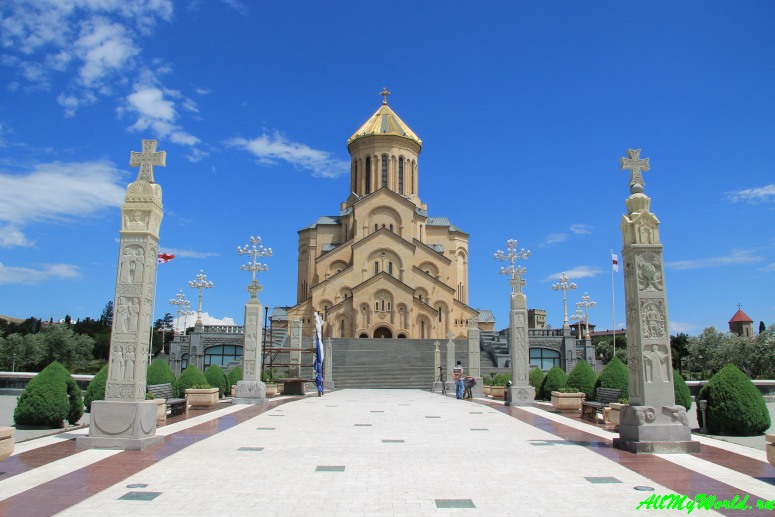 Достопримечательности Тбилиси - Цминда Самеба