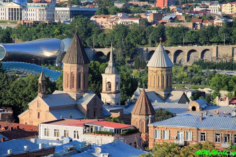 Достопримечательности Тбилиси - улица Котэ Абхази