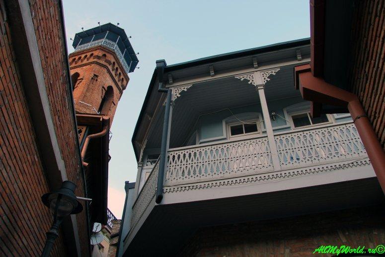Серные бани в Тбилиси: район Абанотубани