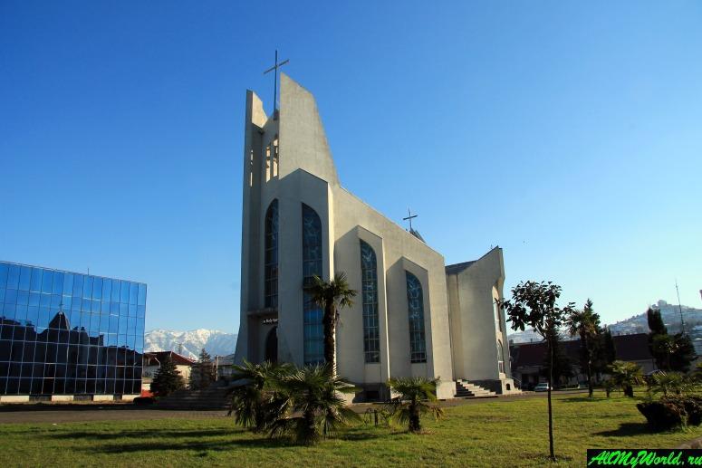Достопримечательности Батуми: базилика Святого Духа
