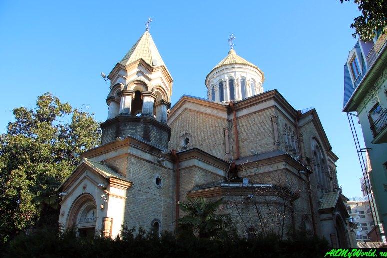 Достопримечательности Батуми: армянская церковь Христа Всеспасителя