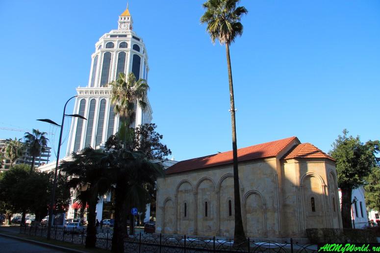 Достопримечательности Батуми: церковь Святой Варвары