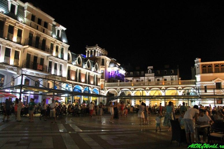 Достопримечательности Батуми: площадь Пьяцца