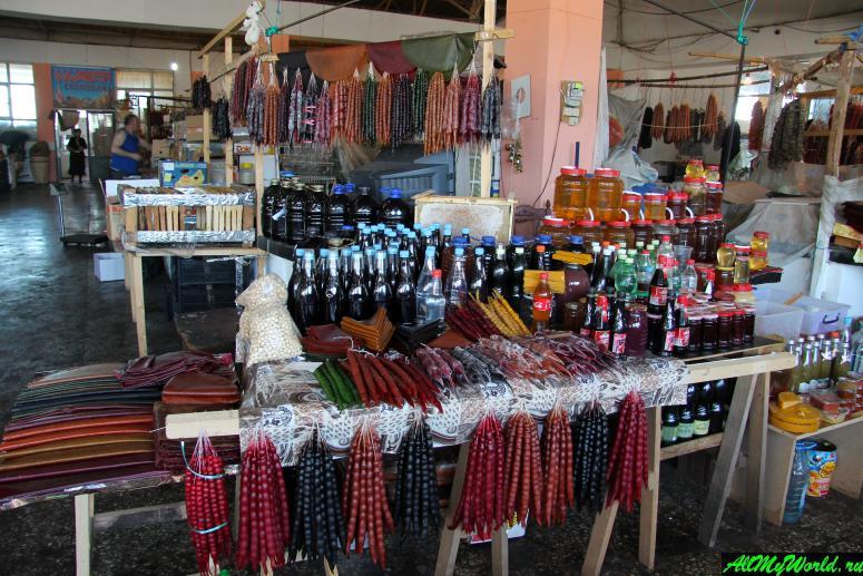 Достопримечательности Батуми: центральный рынок Парехи