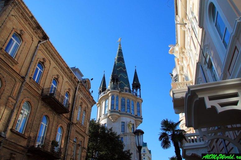 Достопримечательности Батуми: улица Мемеда Абашидзе