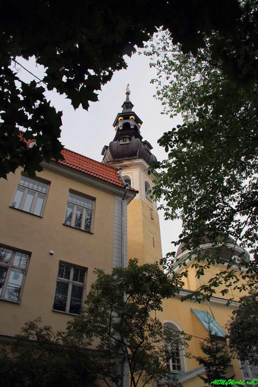Достопримечательности Таллина - церковь Преображения Господня