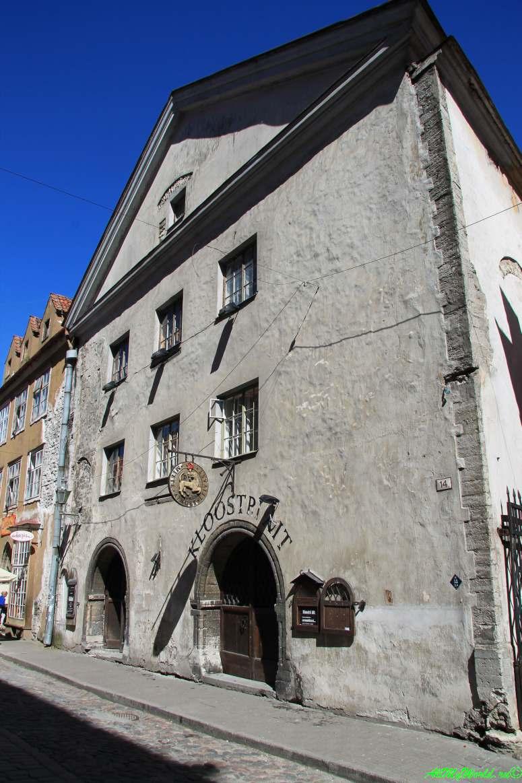 Достопримечательности Таллина - Доминиканский монастырь
