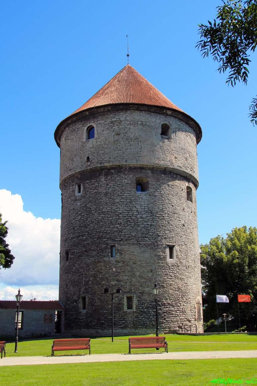 """Достопримечательности Таллина - башня """"Kiek in de Kök"""""""