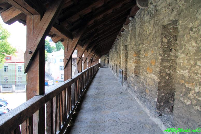 Достопримечательности Таллина - крепостная стена