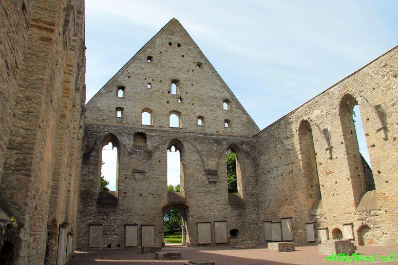 Достопримечательности Таллина - монастырь Святой Бригитты
