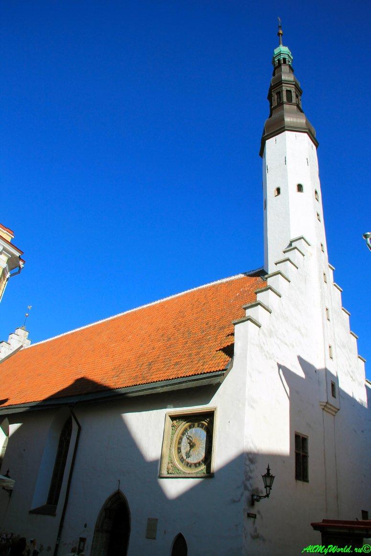 Достопримечательности Таллина - церковь Святого Духа